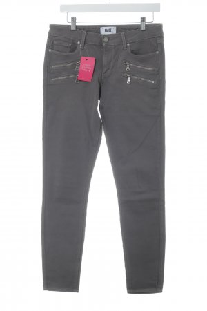 Paige Five-Pocket-Hose taupe-graubraun Casual-Look