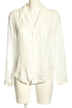 Paige Camicia blusa bianco sporco stile professionale