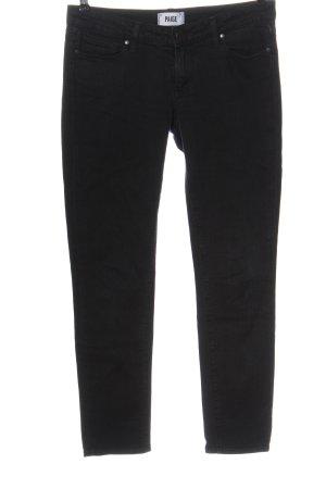 Paige Jeans vita bassa nero stile casual