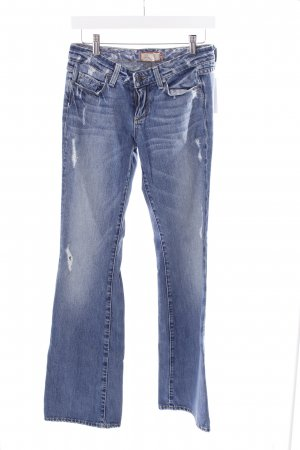 "Paige Jeansschlaghose ""Hollywood Hills classic rise bootcut"" blau"