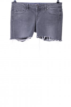 Paige Jeansshorts hellgrau Casual-Look