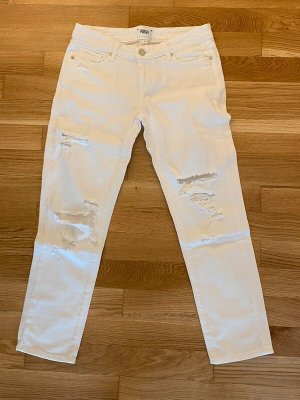 Paige Jeans slim fit bianco