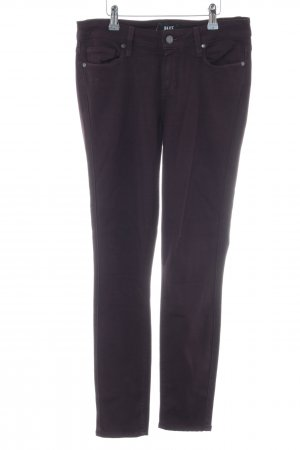 Paige Drainpipe Trousers black business style