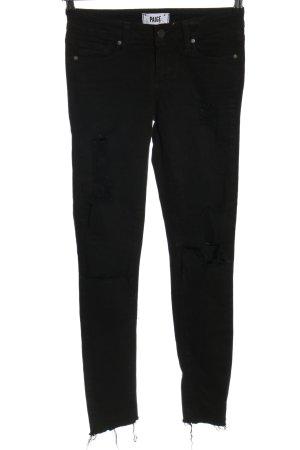 Paige Jeans skinny nero stile casual