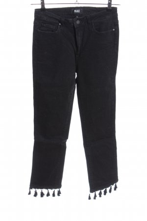 Paige Skinny Jeans schwarz Casual-Look