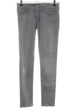 Paige Skinny Jeans hellgrau Casual-Look