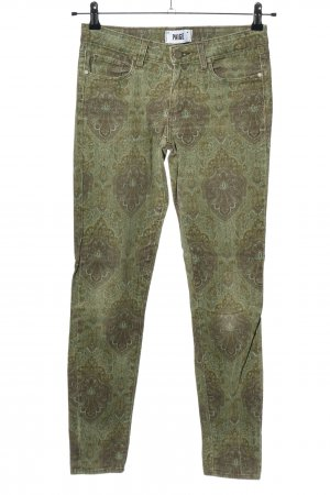 Paige Skinny Jeans abstraktes Muster Casual-Look
