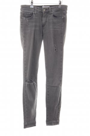 "Paige Skinny Jeans ""Hoxton Ultra Skinny"" grau"