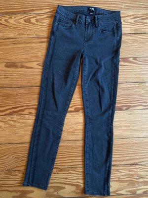 Paige Jeans skinny antracite Cotone