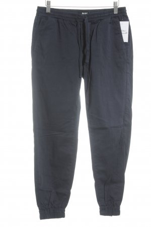 Paige Jersey Pants dark blue casual look