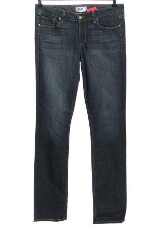 Paige Jeans a gamba dritta blu stile casual