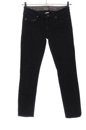 Paige Straight-Leg Jeans schwarz Casual-Look