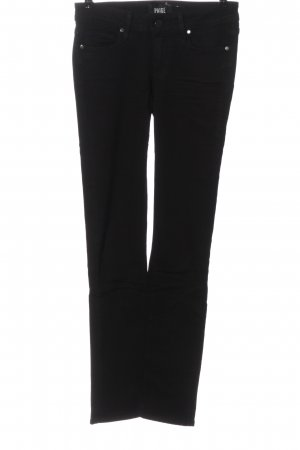 Paige Stretch Jeans schwarz Casual-Look