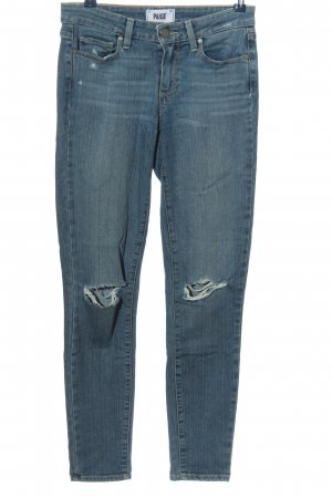 Paige Stretch Jeans blau Casual-Look