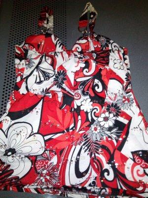 Koszulka typu batik Wielokolorowy Tkanina z mieszanych włókien