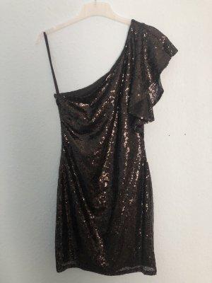 JustFab Robe asymétrique noir