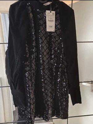 Zara Woman Robe de soirée noir