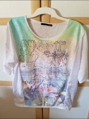 Pailetten shirt t-Shirt