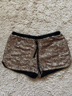 Pailetten Shorts Gold Pimkie 38