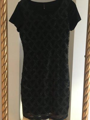 Sojaconcept Sequin Dress black modal fibre