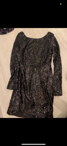 Nelly Sequin Dress black