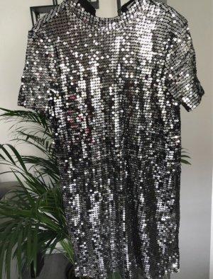 NA-KD Cekinowa sukienka Wielokolorowy