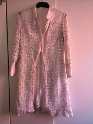 Vintage Geklede jurk wit
