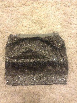 Pailettenrock von Zara