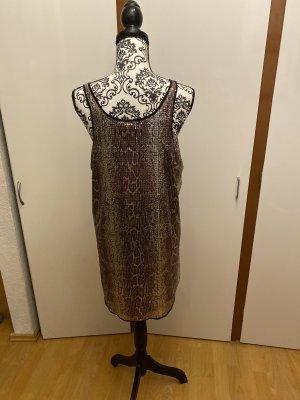 Pailettenschirt-Kleid