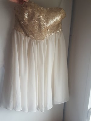 Pailletten Abendkleid