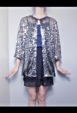 Louis Feraud Oversized blouse zilver