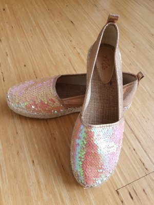 Mio Espadrille Sandals rose-gold-coloured
