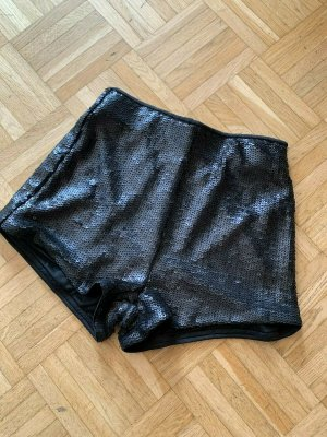 H&M Basic Hot pants zwart