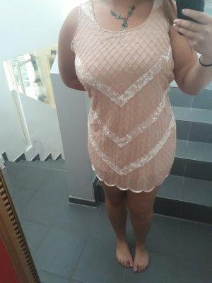 Yumi Sequin Dress cream-pink