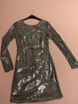 Adrianna Papell Sheath Dress silver-colored