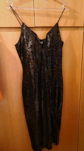 Wal G Sequin Dress black