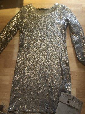 Uli Schneider Cekinowa sukienka złoto