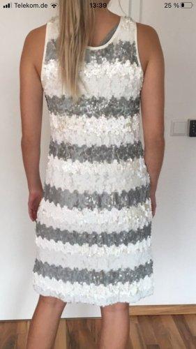 sita murt Sequin Dress light grey-white