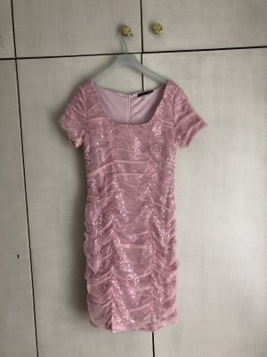 Pailletten Kleid in Rosa