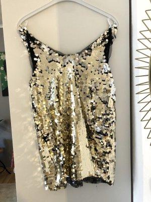 Pailletten Kleid, Langes Party Top