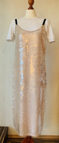 Pailletten Kleid Midi