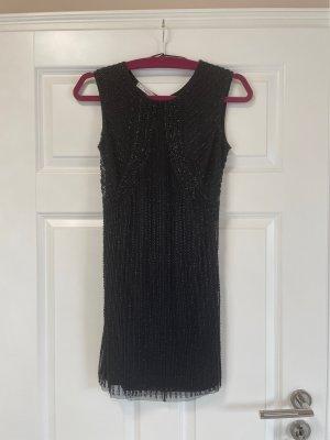 Mango Suit Cut Out Dress black