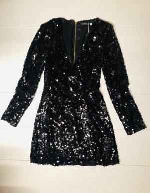 Pailletten Kleid schwarz Gr M- L Neu