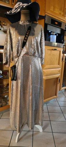 Pailletten Kleid- Silber