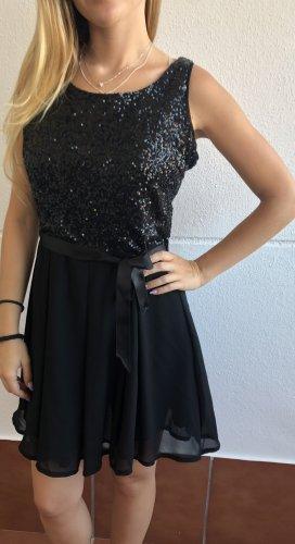 Pailletten Kleid Silvester Kleid in 36