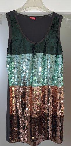Pailletten-Kleid von Paris Hilton