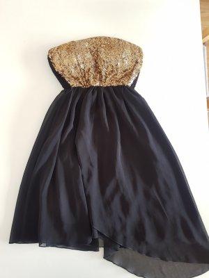 Club L Cocktail Dress black-gold-colored