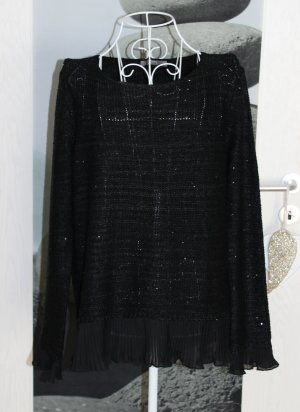 • Pailletten Pullover