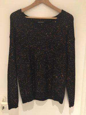 Pailletten-Pullover von JETTE in Größe 38