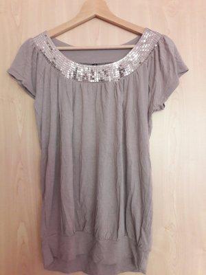 Pailletten-Shirt